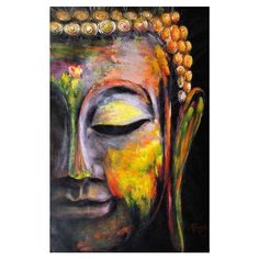 Buy Wall Art Pictures Canvas Painting home decor Wall poster decoration for living room prints vivid Buddha face on canvas no frame Wall Art Pictures, Canvas Pictures, Painting Pictures, Buddha Canvas, Poster Decorations, Spiritual Paintings, Buddha Face, Oil Pastel Art, Buddha Painting