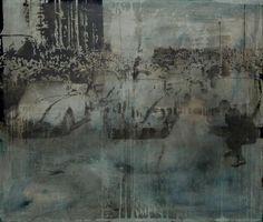 Peer Boehm - daheim ist am schönsten  Erinnerungen: alte Bilder, neu interpretiert.  Gesehen am 04.05.2013 in der Galerie Jürgen Bahr / Ehrenfeld