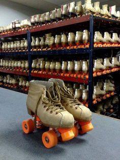 Rental skates...those were the days. Spent many Friday and Saturday nights at Skateland in Kanawha City :)