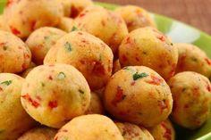 Receita de Bolinho de Batata com Calabresa , Delicioso e fácil de fazer! Aprenda a Receita!