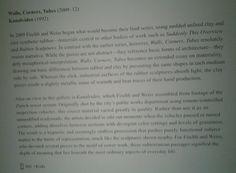 Guggenheim Museum NYC 4/2/16 PETER FISCHLI & DAVID WEISS. Walls Corneers Tubes.