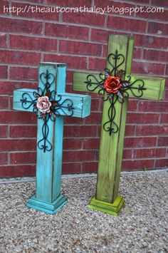 The Autocrat: DYI Rustic Crosses