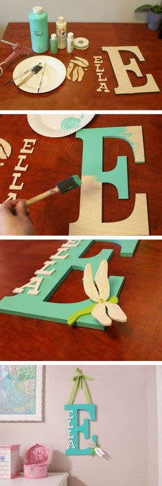 Wooden Letter Wall Decor Target