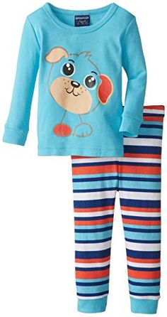 Candlesticks Baby Boys 2 Piece Puppy Cotton Poly Sleep Pajama Blue 12 Months *** Visit the image link more details.