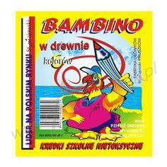 projekt graficzny opakowania na kredki bambino #kredki #dzieci