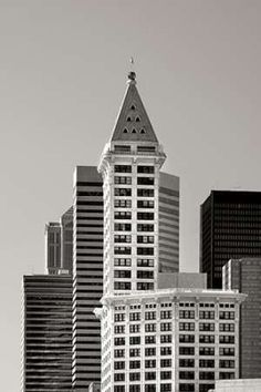 Smith Tower BW