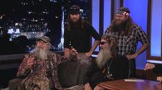 Duck Dynasty on Jimmy Kimmel Live PART 2