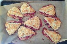 Buckwheat-Rhubarb Scones Recipe on Food52, a recipe on Food52
