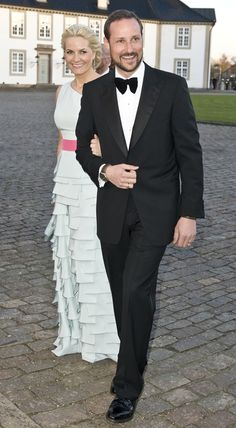 Princess Mette-Marit and Prince Haakon of Norway
