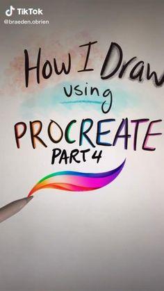 Digital Painting Tutorials, Digital Art Tutorial, Art Tutorials, Art Drawings Sketches Simple, Drawing Tips, Digital Art Beginner, Ipad Art, Digital Illustration, Foto E Video