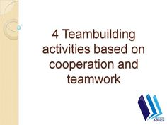 Haven't reached your teams true potential? Check out 4 team-building exercises to improve cooperation and teamwork