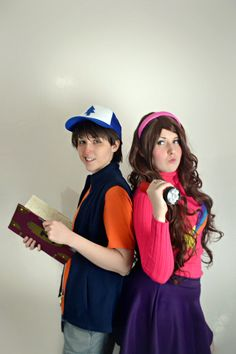 The twins are on another adventure together! What creepy, or magical, or great mystery could they uncover. Dipper Pines - Bridget Mabel Pines - Meg