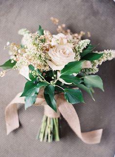 gorgeous green and blush wedding inspiration: colour ideas