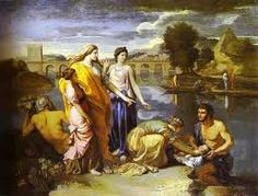 Nicolas Poussin - Moses Saved from the Water [Musée du Louvre, Paris - Oil on canvas, 94 x 121 cm] Baby Moses, Piet Mondrian, Poussin Nicolas, Oil On Canvas, Canvas Art, Canvas Prints, Louvre Paris, Art Gallery, Moise
