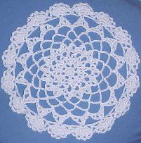 LACY Thread Doily Thread Crochet Pattern - Free Crochet Pattern Courtesy of Crochetnmore.com