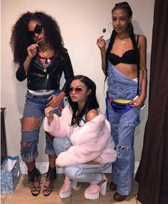 ❤India Westbrooks❤ Pin by:Bryanna Willis Go Best Friend, Best Friend Outfits, Best Friend Goals, Bff Goals, Squad Goals, Urban Fashion, 90s Fashion, Pretty Girl Swag, Girl Gang