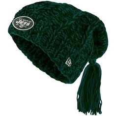 New Era New York Jets Ladies Winter Slouch Knit Hat - Green