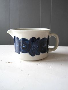 Vintage Arabia ANEMONE Creamer from the Series Designed by