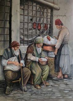Turkish Art, Decoupage, Art Pieces, Modern Paintings, Cards, Vector Art, Artworks, Art Work, Maps