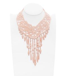 gaultier crochet necklace