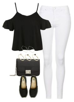 """""""Untitled #4137"""" by keliseblog ❤ liked on Polyvore featuring Topshop, MANGO, Pieces and Monki"""