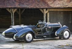 TheBentley 3½ Litre was originally released to the public inSeptember 1933, very shortly after the death of Henry Royce. The Bentley company...  neat looking car. i'm looking at it and thinking it'd be a neat steampunkmobile.....