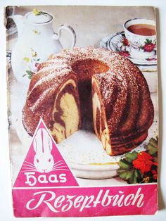 Vintage AUSTRIAN COOK BOOKLET, German Haas Recipes, Baking, Cakes, Pastries, Preserves, by AlpineCountryLooks on Etsy