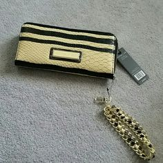 FLASH SALE!  Olivia + Joy Wallet   Clutch See matching shoulder/crossbody/clutch! This is gorgeous! Price is firm as I am keeping if this doesn't sell within a certain number of days  Brand new with tags, never used, it can be a wallet, a clutch or both! It has a removable wrist strap with lobster claw closure, one exterior zipper pocket, several credit card slots, center zipper pocket, a center pouch and either side has plenty storage! Smoke and pet free home  Please feel free to ask…