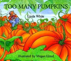 One of my favorite realistic fiction books about pumpkins!