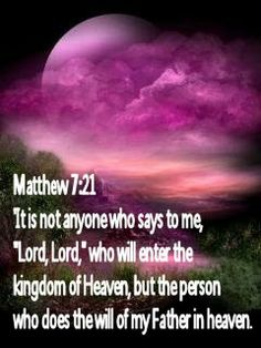 It is written: My doctrine is not My own, but HIM who sent Me