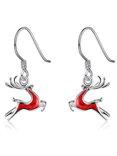 SHARE & Get it FREE | Christmas Elk Enamel Drop EarringsFor Fashion Lovers only:80,000+ Items • New Arrivals Daily Join Zaful: Get YOUR $50 NOW!