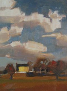 """Bill Fletcher Workshop Day 1 6x8 oil"" original fine art by Claudia Hammer"