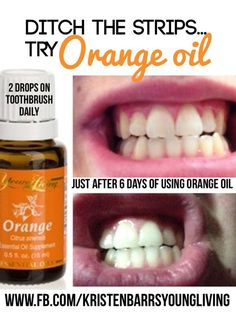 Young Living Essential Oils: Teeth