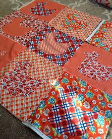 Part 3 of the chicken quilt project.