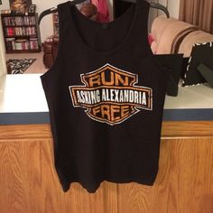BLACK FRIDAY SALE Asking Alexandria oversized tank Like new, perfect condition Tops Tank Tops