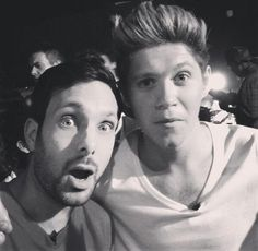 Niall with Dynamo!