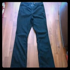 Torrid Black Trouser Jeans Excellent condition. Size 18 Tall. Perfect for casual Friday's!  torrid Jeans Boot Cut