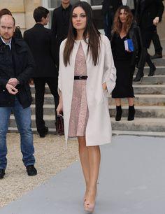 Mila Kunis in Dior