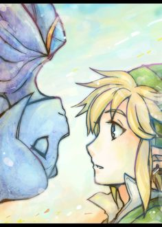 Skyward Sword (I don't ship them but this picture is amazing)
