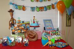 Toy Story Birthday Party  -      I don't care that I'll be 20 soon, I want this birthday party