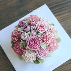 Beautiful Buttercream flowers