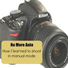 How I learned to shoot in manual mode with an online photography class!