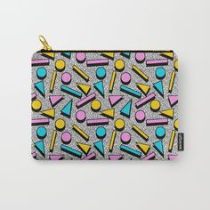 Check out society6curated.com for more! I am a part of the society6 curators program and each purchase through these links will help out myself and other artists. Thanks for looking! @society6 #abstract #abstraction #bag #pouch #totebag #accessory #accessories #fashion #style #women #men #cool #cute #small #nice #fun #gift #idea #buy #shop #shopping #sale #beautiful #pretty #beauty #petals #buyart #artforsale #memphis #pattern #retro #vibes #red #pink #yellow #blue #triangles #circles…