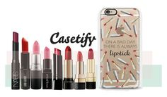 """Always a LIPSTICK in my bag"" by casetify ❤ liked on Polyvore featuring ljepota, MAC Cosmetics, Dolce&Gabbana, Lancôme, NARS Cosmetics, Smashbox, Bobbi Brown Cosmetics, Lord & Berry i Casetify"