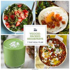 Veggie-Packed Breakfast Meal Plan - EatingWell