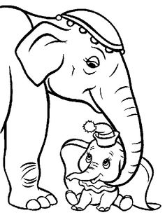 Dumbo Coloring Pages