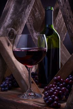 Red Wine and Grapes by Brian Enright - Photo 104066881 - 500px