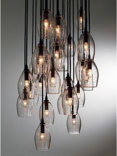 ALISON BERGER CHANDELIERS by Alison Berger for Holly Hunt modern chandeliers