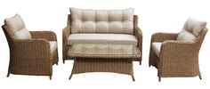saigon heritage weave low back lounge dining set - Google Search