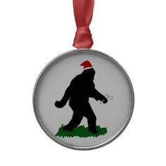 Christmas #Squatchin Ornament by #SquatchMe  shipping to Middletown, RI